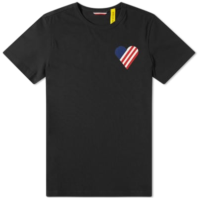 Moncler Genius - 2 Moncler 1952 - Stripe Large Patch Logo Tee
