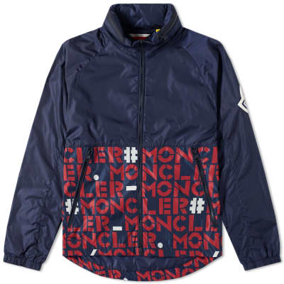 Moncler Genius - 2 Moncler 1952 - Octagon Logo Zip Hooded Windbreaker