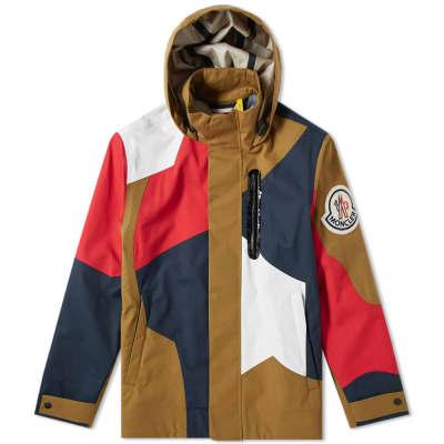 Moncler Genius - 2 Moncler 1952 - Baudrier Hooded Bonded Patchwork Jacket