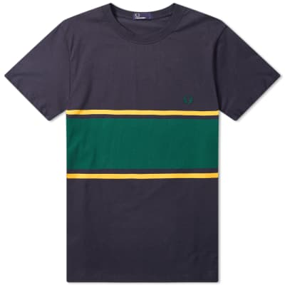 Fred Perry Colour Block Tee