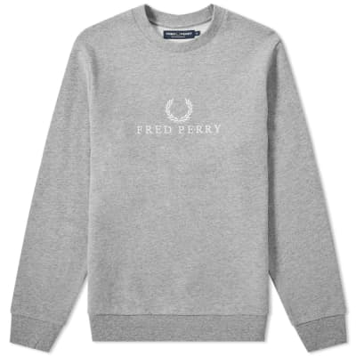 Fred Perry Embroidered Sweat