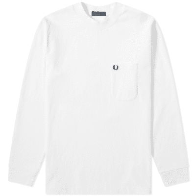 Fred Perry Long Sleeve High Neck Tee