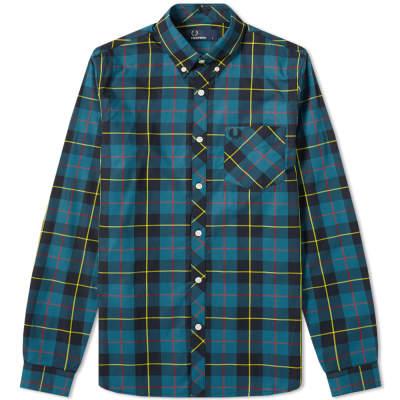 Fred Perry Tartan Check Pocket Shirt