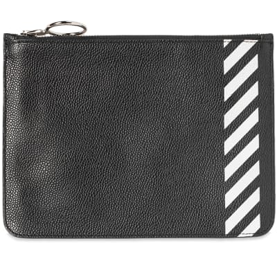 Off-White Diag Flat Pouch