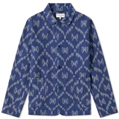 YMC Pablo Patterned Shirt Jacket