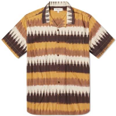 YMC Short Sleeve Navajo Malick Vacation Shirt