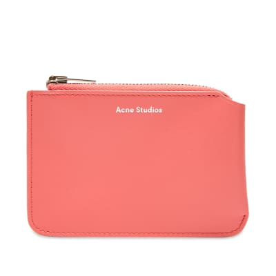 Acne Studios Small Garnet Zip Wallet