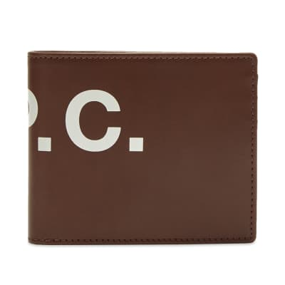 A.P.C. London Logo Wallet