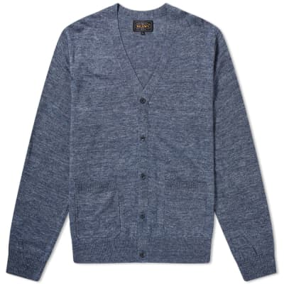 Beams Plus Cardigan Linen