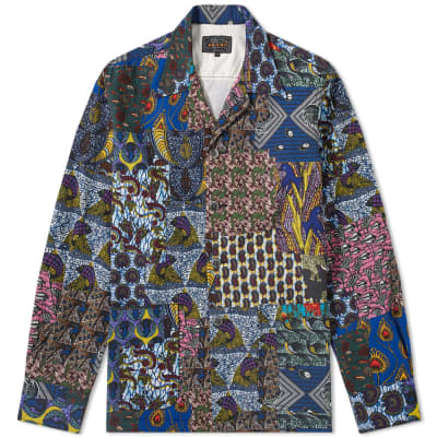 Beams Plus Batik Print Shirt Jacket