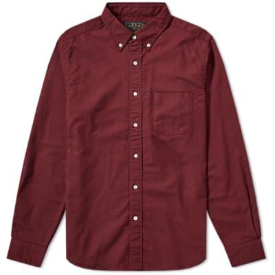 Beams Plus Button Down Oxford Shirt