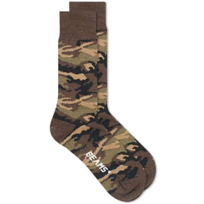 Beams Plus Camo Sock