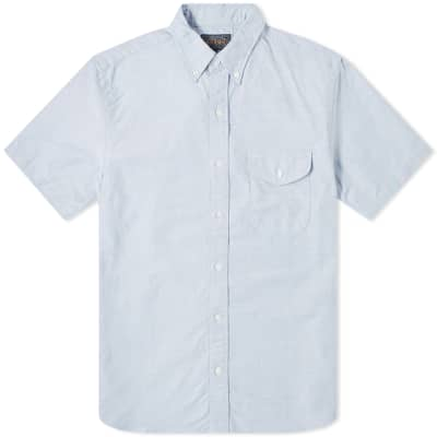 Beams Plus Short Sleeve Oxford Shirt