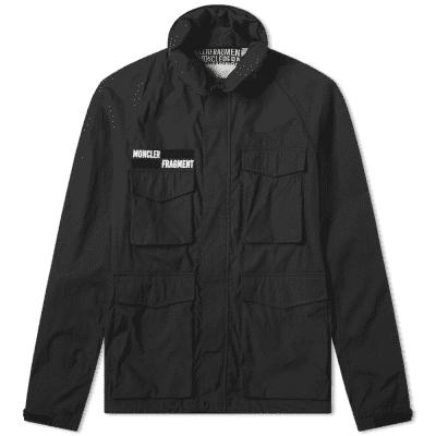 Moncler Genius - 7 Moncler Fragment Hiroshi Fujiwara - Velcro Logo Jacket