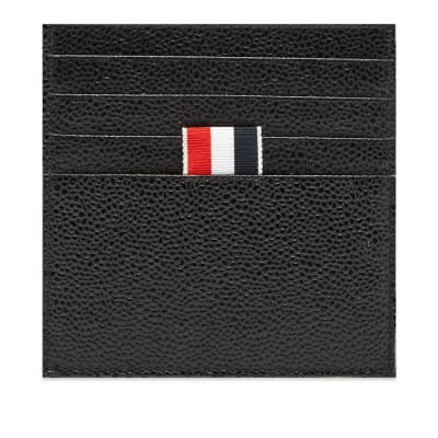 Thom Browne Printed Label Card Holder