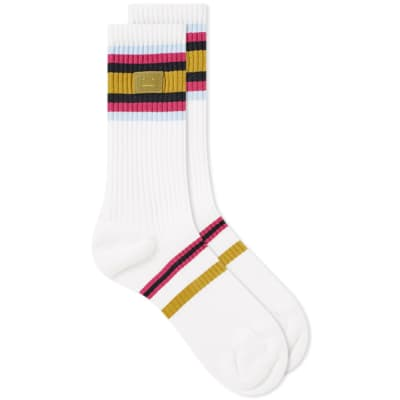 Acne Studios Face Rib Sock