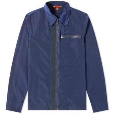 Barena Tech Nylon Zip Overshirt