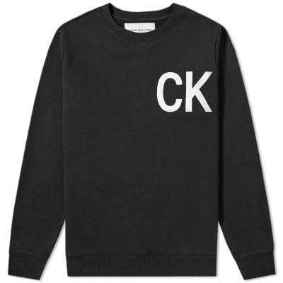 Calvin Klein Statement Logo Crew Sweat