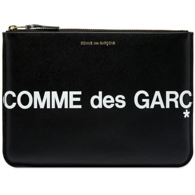 Comme des Garcons SA5100HL Huge Logo Wallet