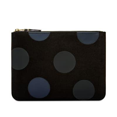 Comme des Garcons SA5100RD Rubber Dot Wallet