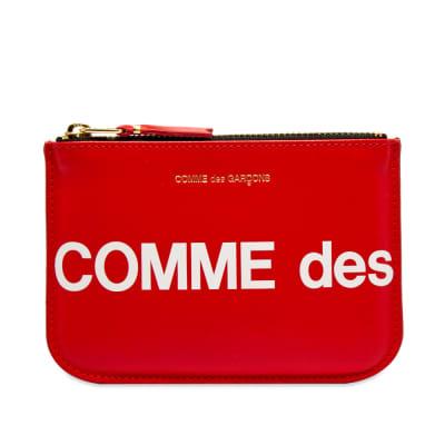 Comme des Garcons SA8100HL Huge Logo Wallet