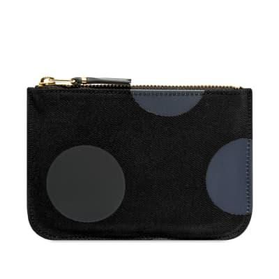 Comme des Garcons SA8100RD Rubber Dot Wallet