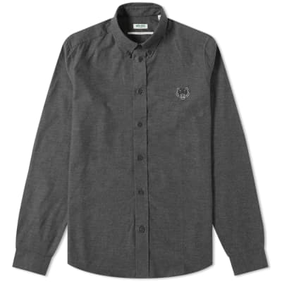 Kenzo Button Down Twill Oxford Shirt