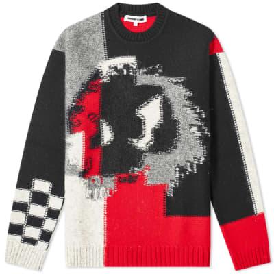 McQ Alexander McQueen Monster Patchwork Knit