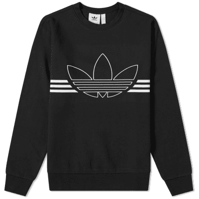 Adidas Outline Crew Sweat