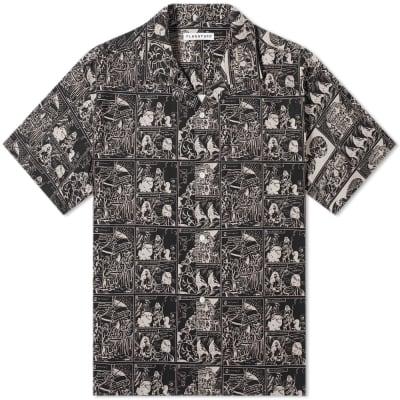 FLAGSTUFF Masa Print Vacation Shirt