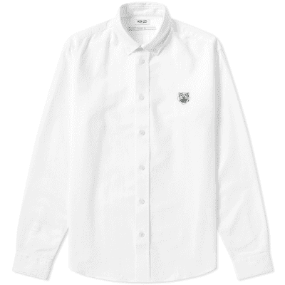 69d459c0fc29 Kenzo Tiger Crest Oxford Shirt