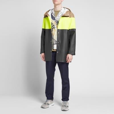 Stutterheim Stockholm Striped Raincoat
