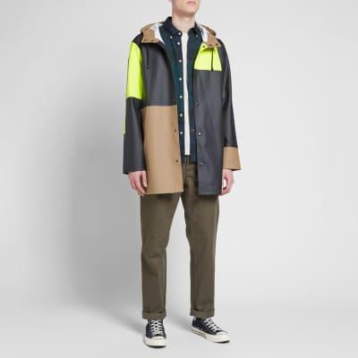Stutterheim Stockholm Patched Raincoat