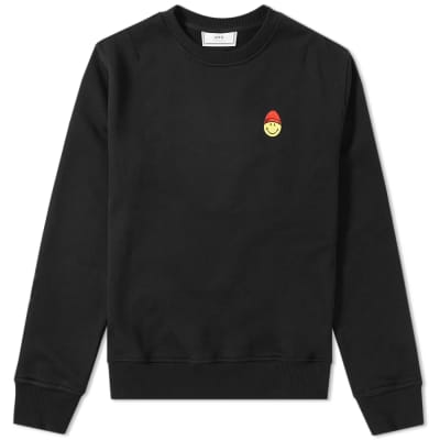 AMI Smiley Crew Sweat