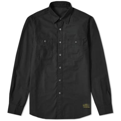 Uniform Experiment Embroidered Utility Shirt