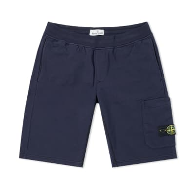 Stone Island Junior Jersey Cargo Short