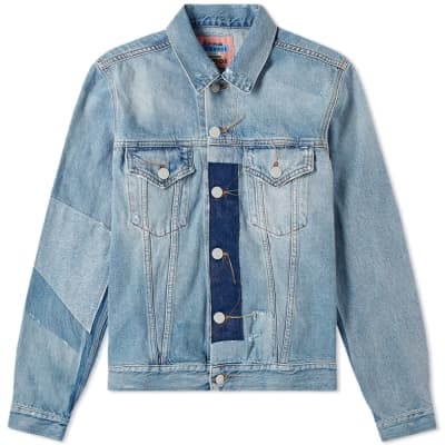Acne Studios Vintage Patch 1998 Denim Jacket