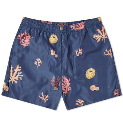Acne Studios Warrick Coral Swim Short