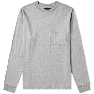 Beams Plus Long Sleeve Pocket Tee