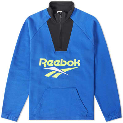 Reebok Vector 1/4 Zip Sweat