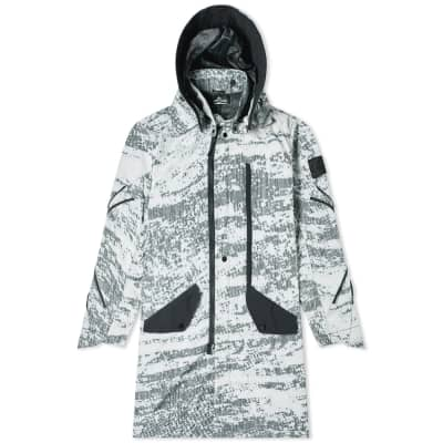 Stone Island Shadow Project DPM Marl Detachable Hooded Long Parka
