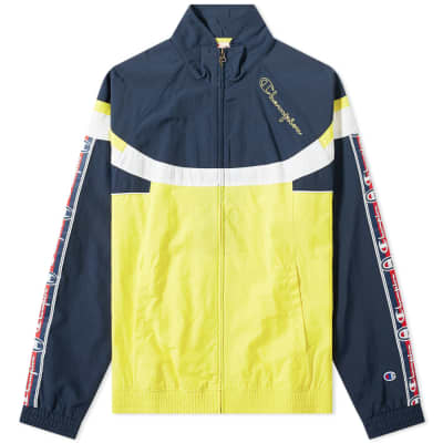 8d53d39ee Champion Reverse Weave Taped Colour Block Track Top