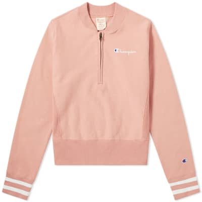 Champion Reverse Weave Women's Half Zip Sweat
