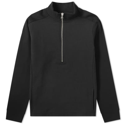 Folk Tech 1/4 Funnel Neck Zip Sweat