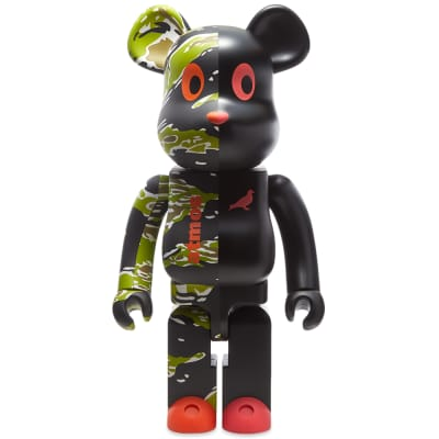 Medicom x Staple x Atmos #2 Be@rbrick