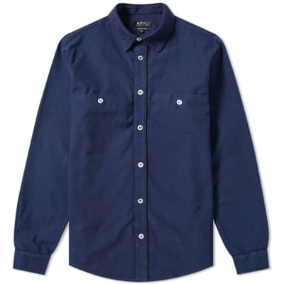 A.P.C. Placket Detail Shirt