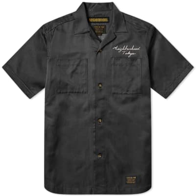 43229173 Neighborhood Short Sleeve Mil Souvenir Shirt