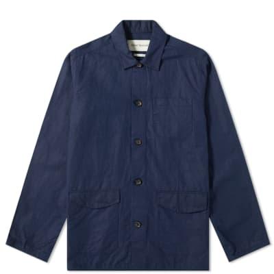 Oliver Spencer Linen Hockney Chore Jacket