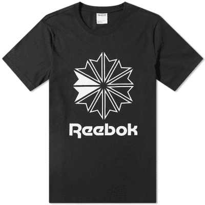 Reebok Big Starcrest Logo Tee