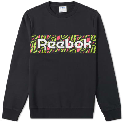 Reebok Hyper Graphic Crew Sweat